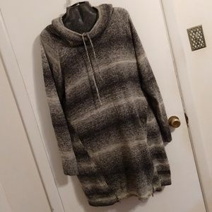 Maurices Dresses - Maurices Gray Sweater Dress Tunic Wool Blend XXL